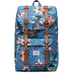 Herschel Little America Mid-Volume Rugzak 17L, summer floral heaven blue